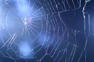 "The web of life: ""Myfi, Tydi, Efe."" Waldo Williams."